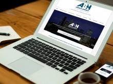 Aaron B. Harnett, Barrister, Website Redesign