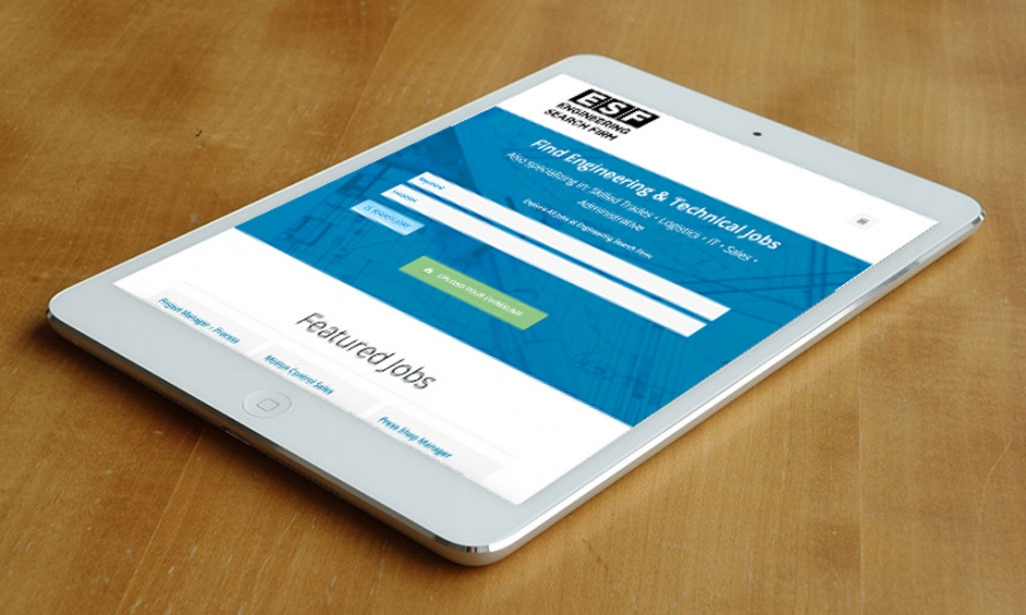 Website Redesign for Engineering Search Firm (ESF)