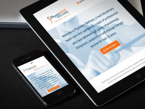 PhysioMax Wellness Website Design